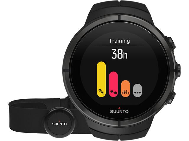 Suunto Spartan Ultra Titanium Watch Chest HR all black